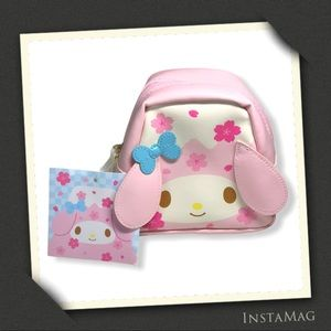 SANRIO My Melody Little Zipper Pouch w/Bunny Ears